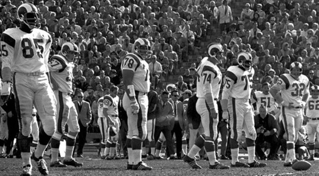 History Top 10 Los Angeles Rams Players Of The 1960s Rams Talk
