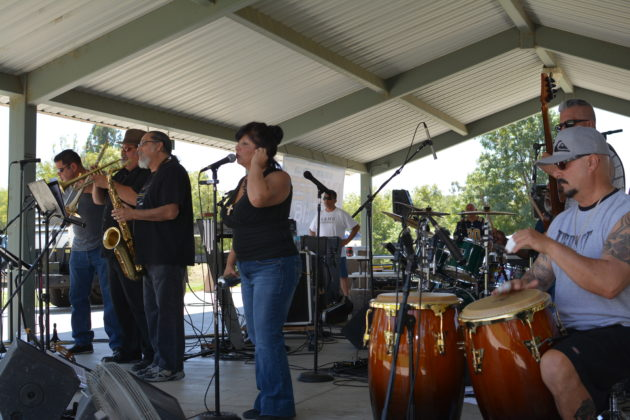 The band was rockin! Photo credit: Beautiful Memories by Valerie Gomez