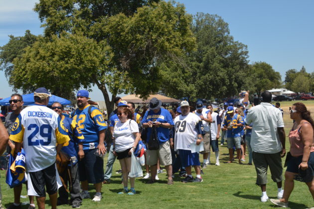 Ram fans came from all over! Photo credit: Beautiful Memories by Valerie Gomez.
