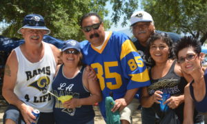 Ready for some Rams football!  Photo credit: Beautiful Memories by Valerie Gomez.