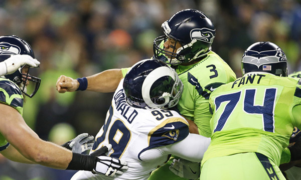 Week 15 The Los Angeles Rams Are Pummeled By The Seattle