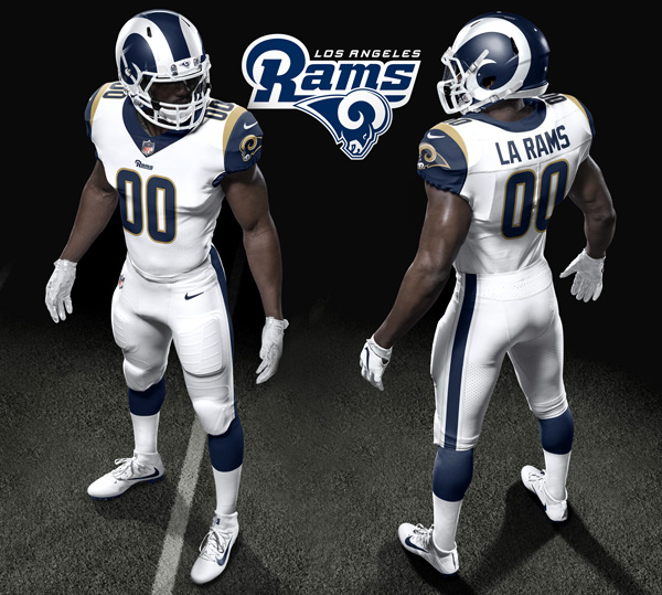 c2a538e92a9 The Los Angeles Rams 2017 uniforms rebirths the 'white horn,' but was it  the right decision? – Rams Talk