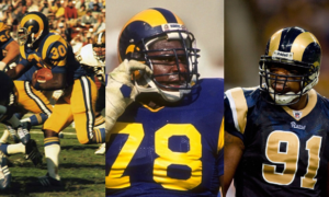 ab5bfc06996 The Los Angeles Rams 2017 uniforms rebirths the 'white horn,' but ...