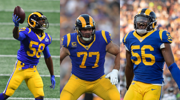 Nfl Free Agents 2020 List.Pending Los Angeles Rams 2020 Free Agents Rams Talk